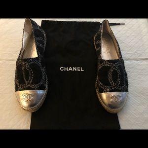 Authentic Chanel Espadrilles size 38